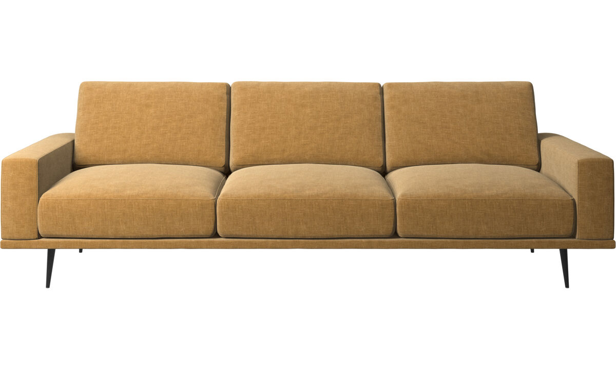 3 seater sofas - Carlton sofa - Beige - Fabric