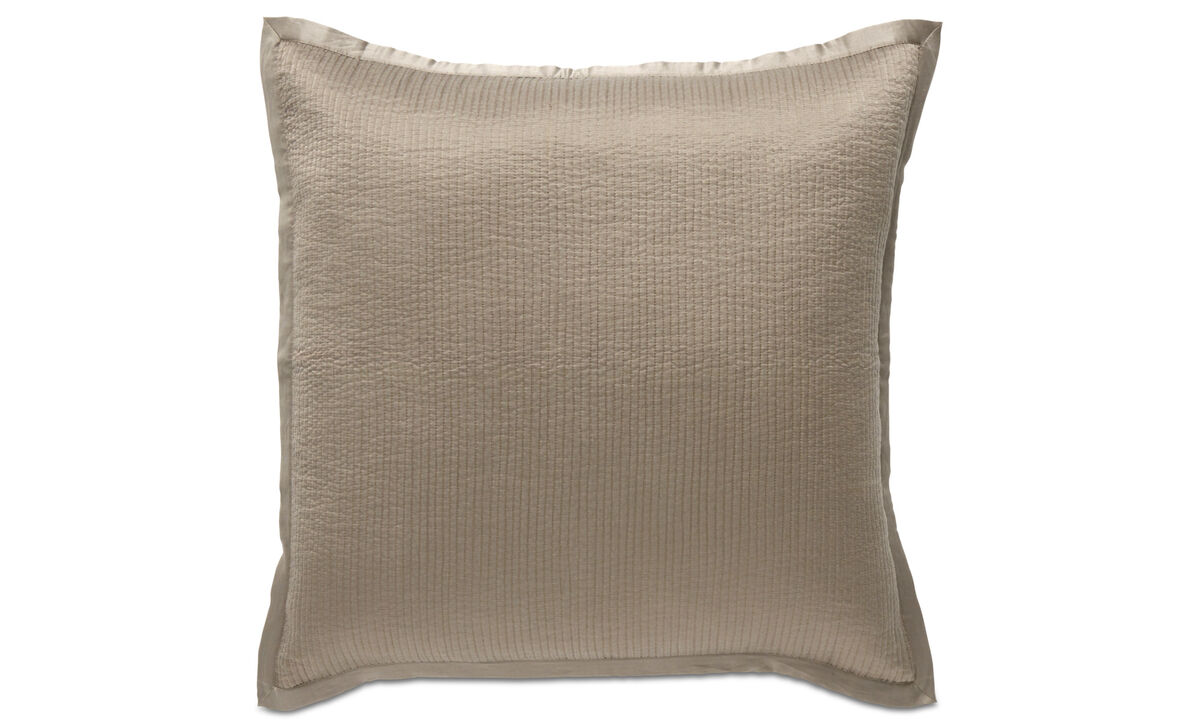 Patterned cushions - Pause cushion - Grey - Fabric