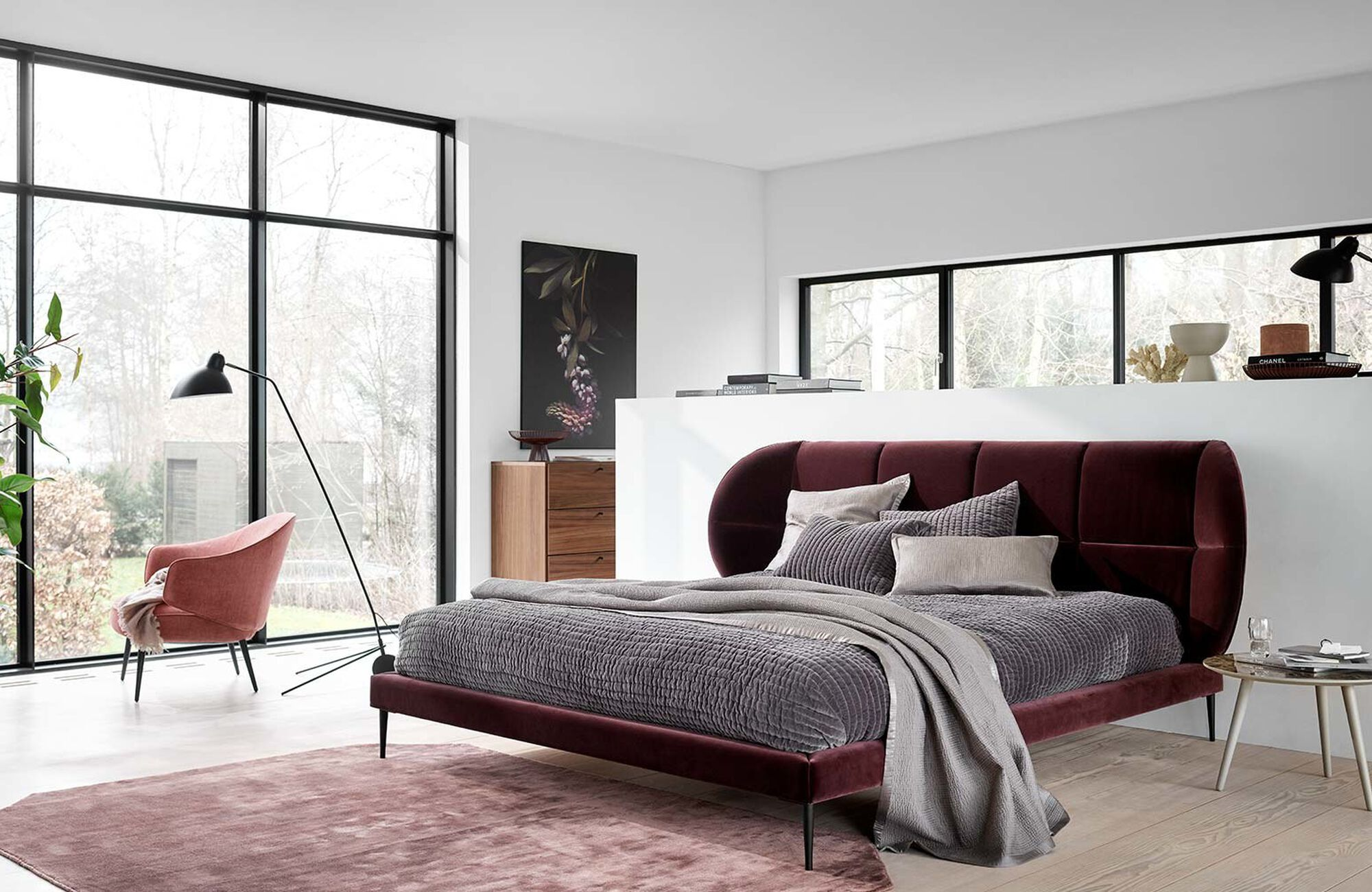 Diseños de Henrik Pedersen - Cama Oxford, no incluye colchón