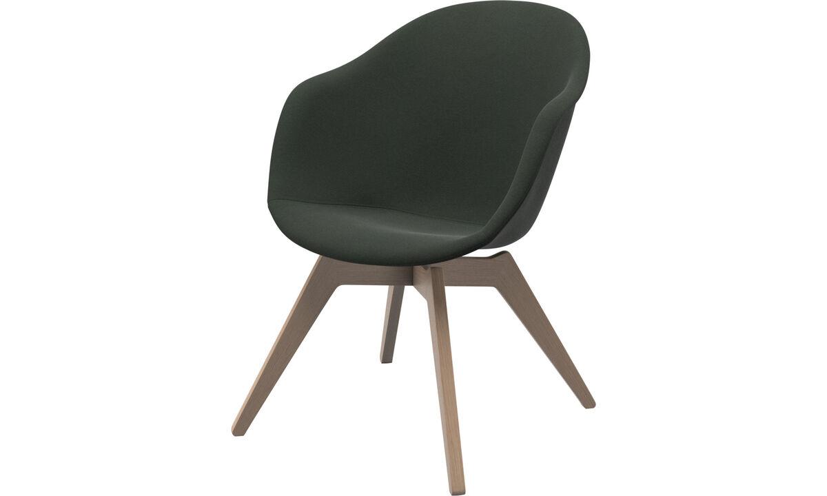 Sillones - silla Adelaide lounge - En verde - Tela