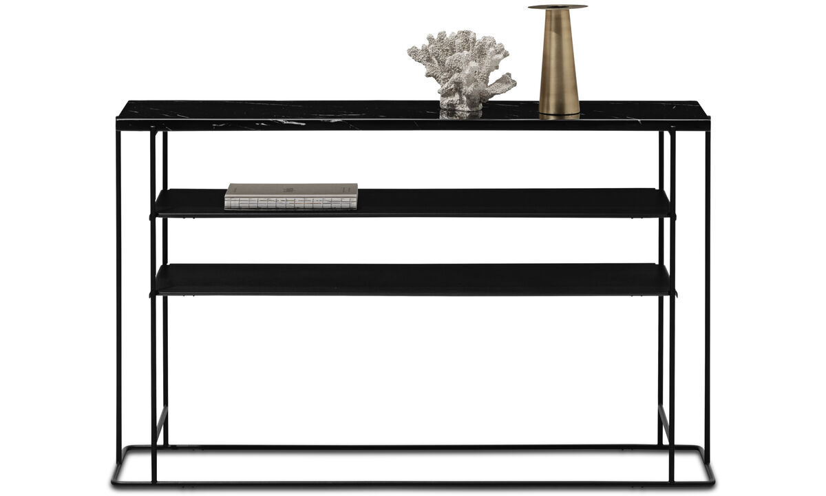 Hallway furniture - Paris console table - rectangular - Black