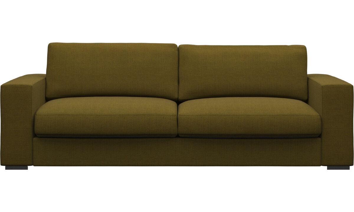 Sofas - Cenova sofa - Yellow - Fabric