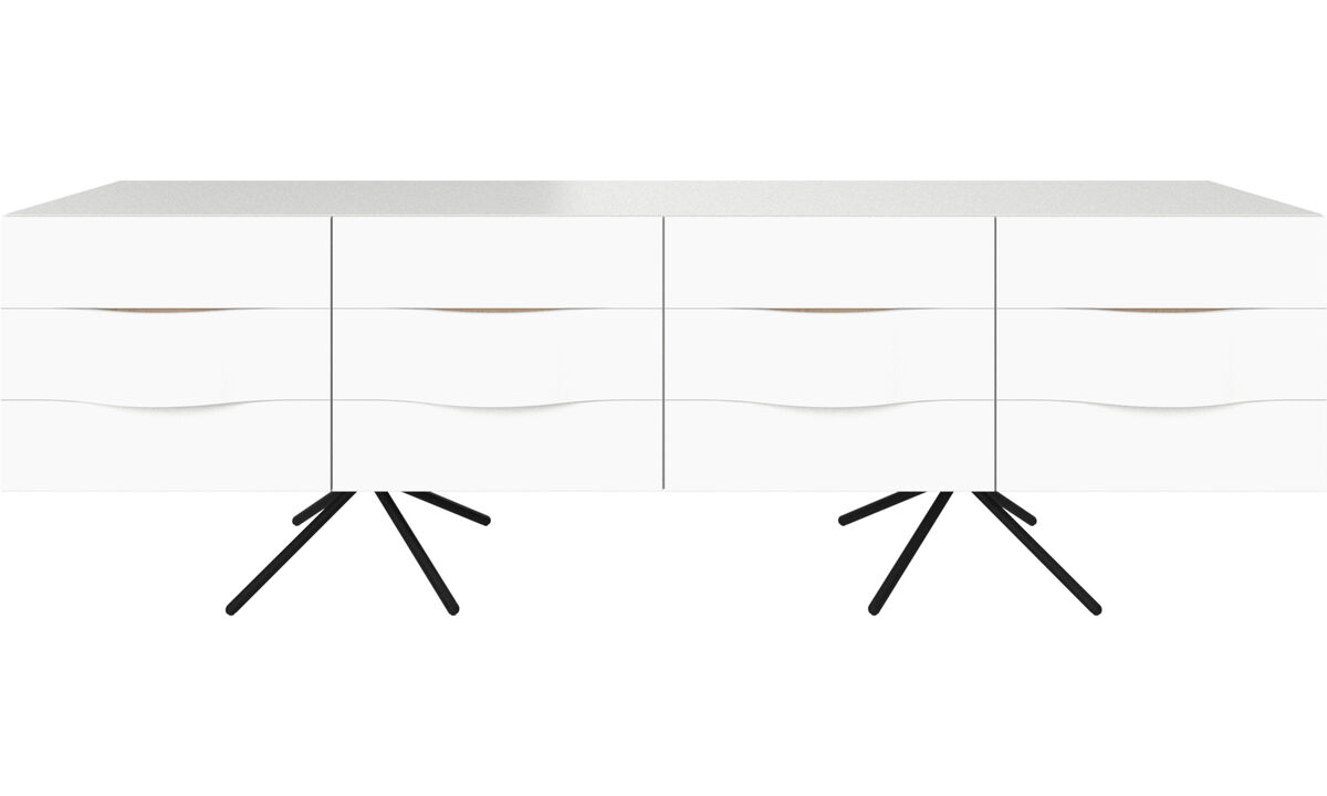 Sideboards - Ottawa sideboard - White - Lacquered
