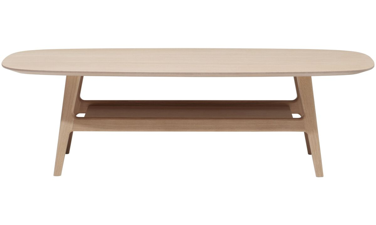 New designs - Adelaide coffee table - oval - Brown - Oak