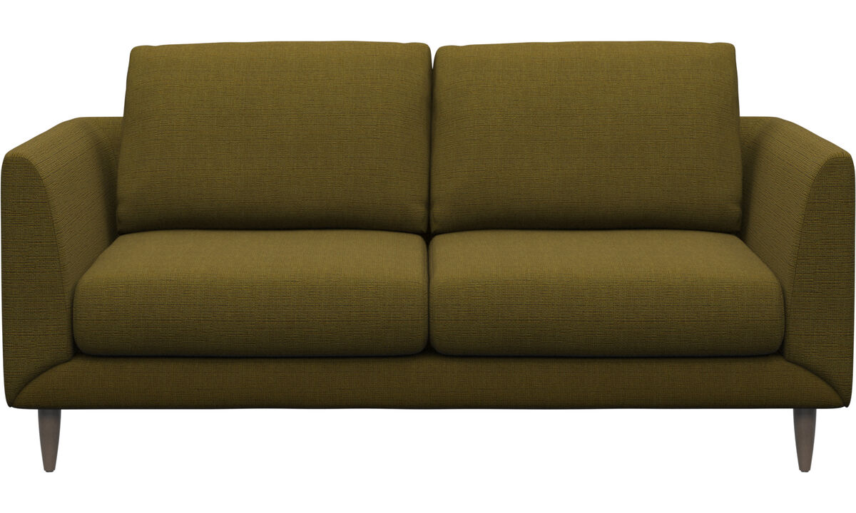 2 seater sofas - Fargo sofa - Yellow - Fabric