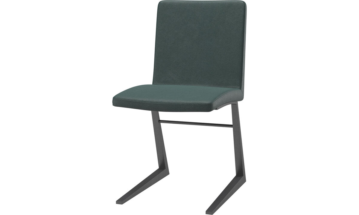 Dining chairs - Mariposa Deluxe chair - Green - Fabric