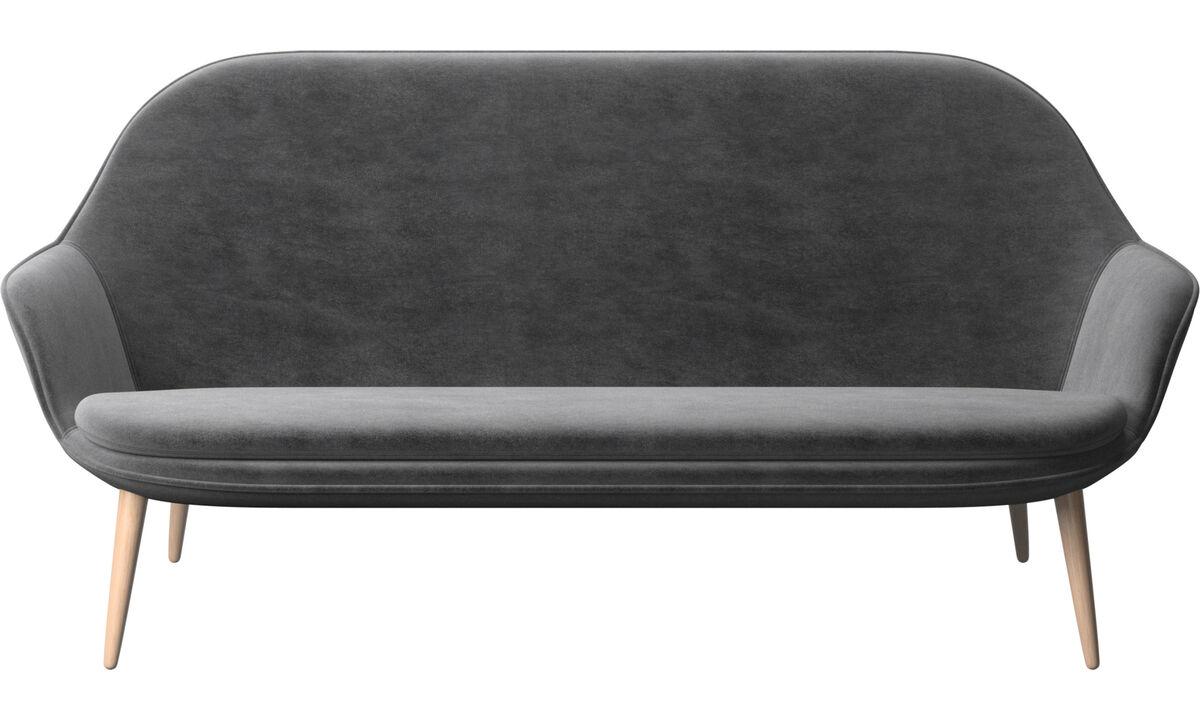 小户型沙发 - Adelaide 沙发 - 灰色 - 布艺