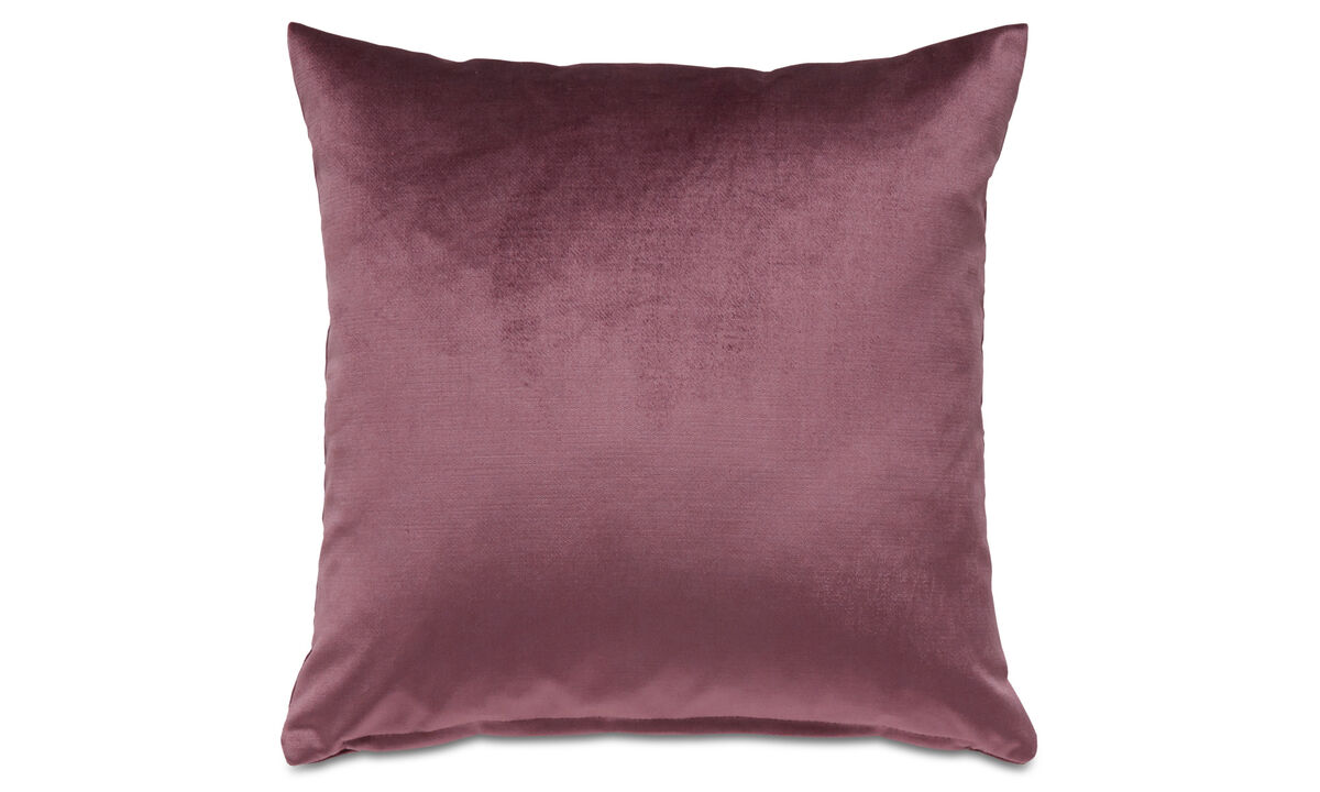Cushions - Velvet cushion - Purple - Fabric