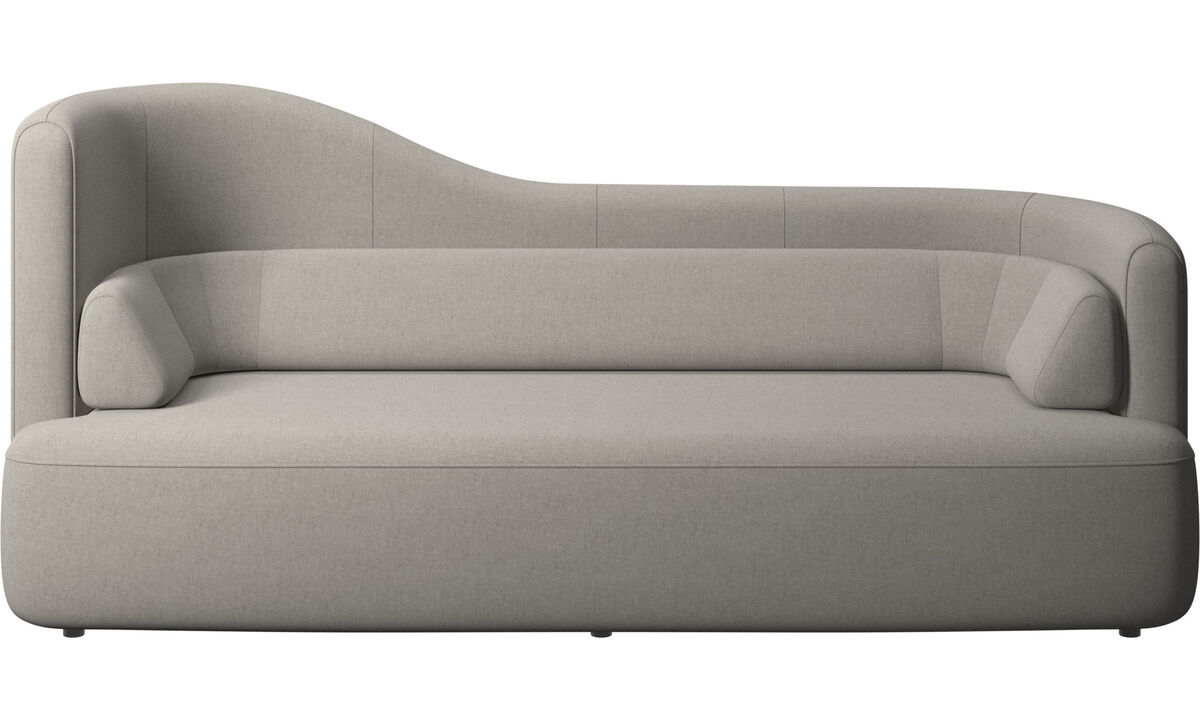 2.5 seater sofas - Ottawa sofa - Grey - Fabric