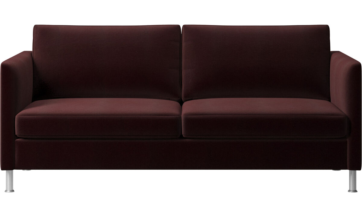 2.5 seater sofas - Indivi sofa - Purple - Fabric