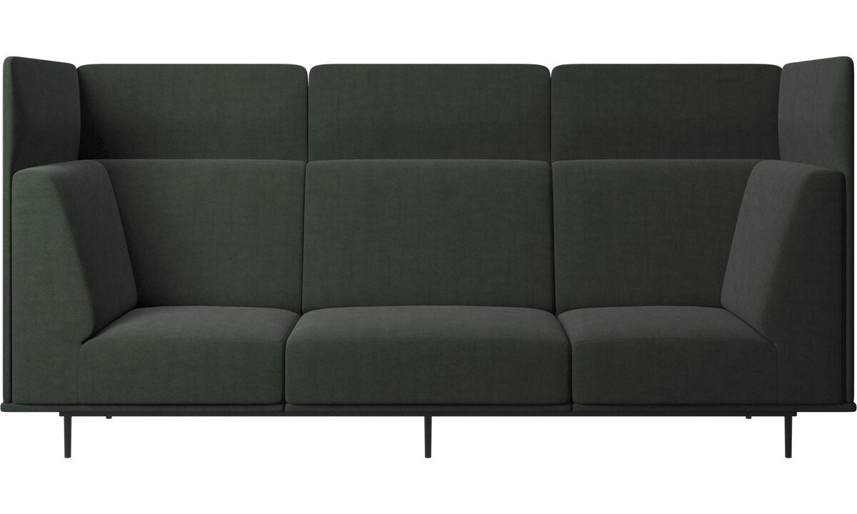 3-sitzer Sofas - Toulouse Sofa - Grün - Stoff