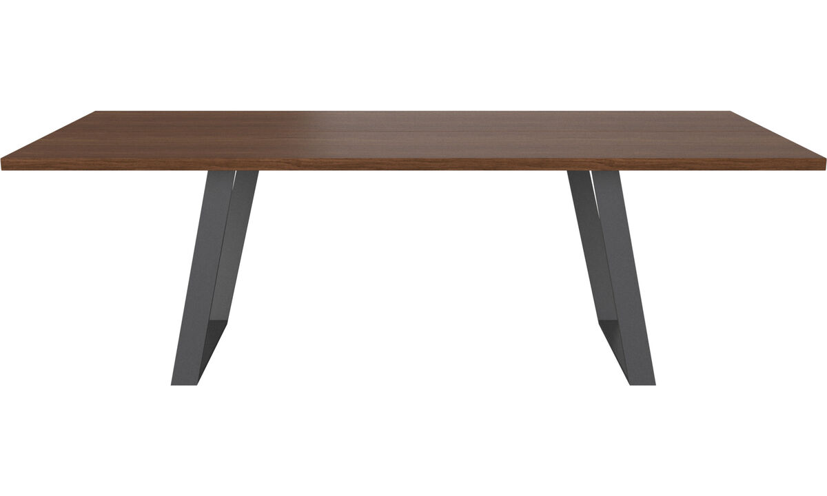 Dining tables - Vancouver tavolo con piano supplementare - rettangolare - Marrone - Noce
