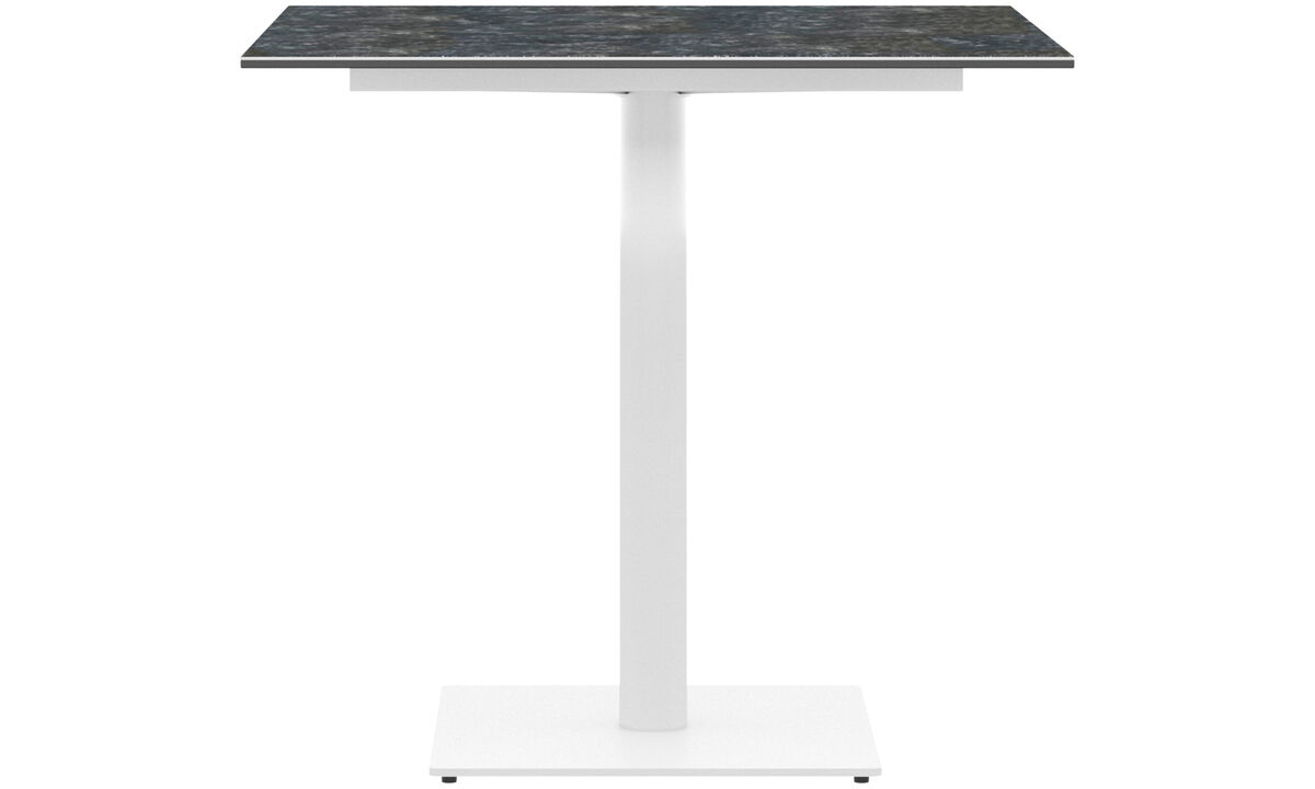 Torino outdoor table - square - Grey