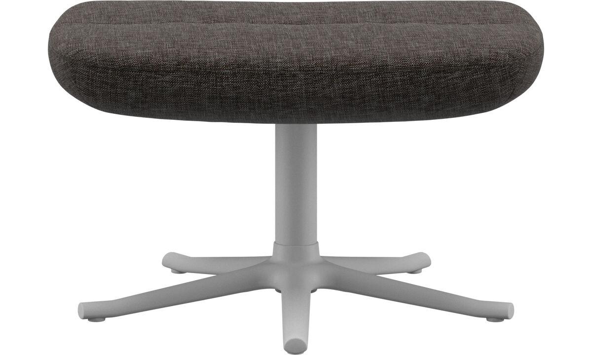 Footstools - Trento footstool - Brown - Fabric