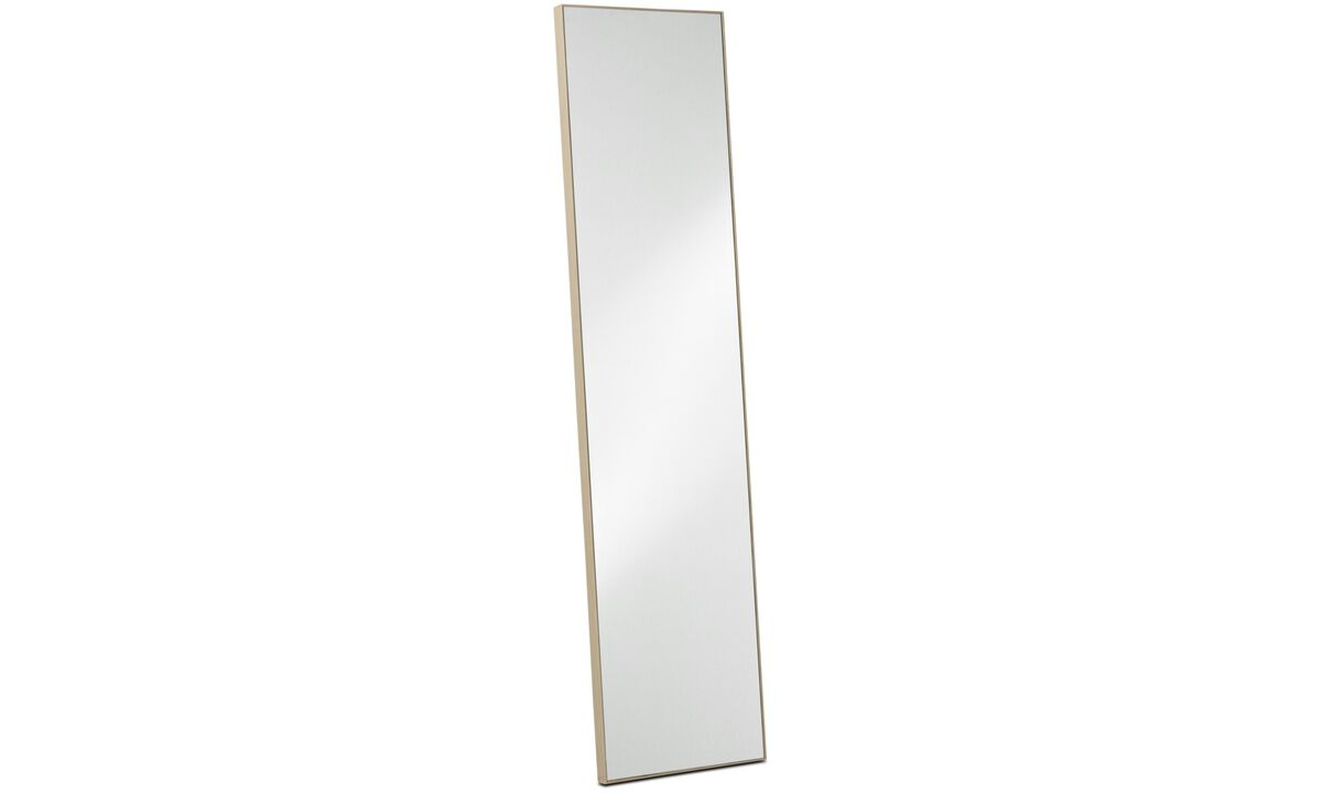 New designs - Medina mirror - Brown - Oak