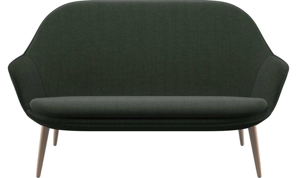 2 seater sofas - Adelaide sofa - Green - Fabric