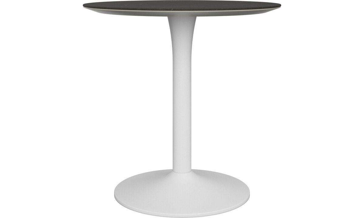 Dining tables - New York table - round - Black - Ceramic