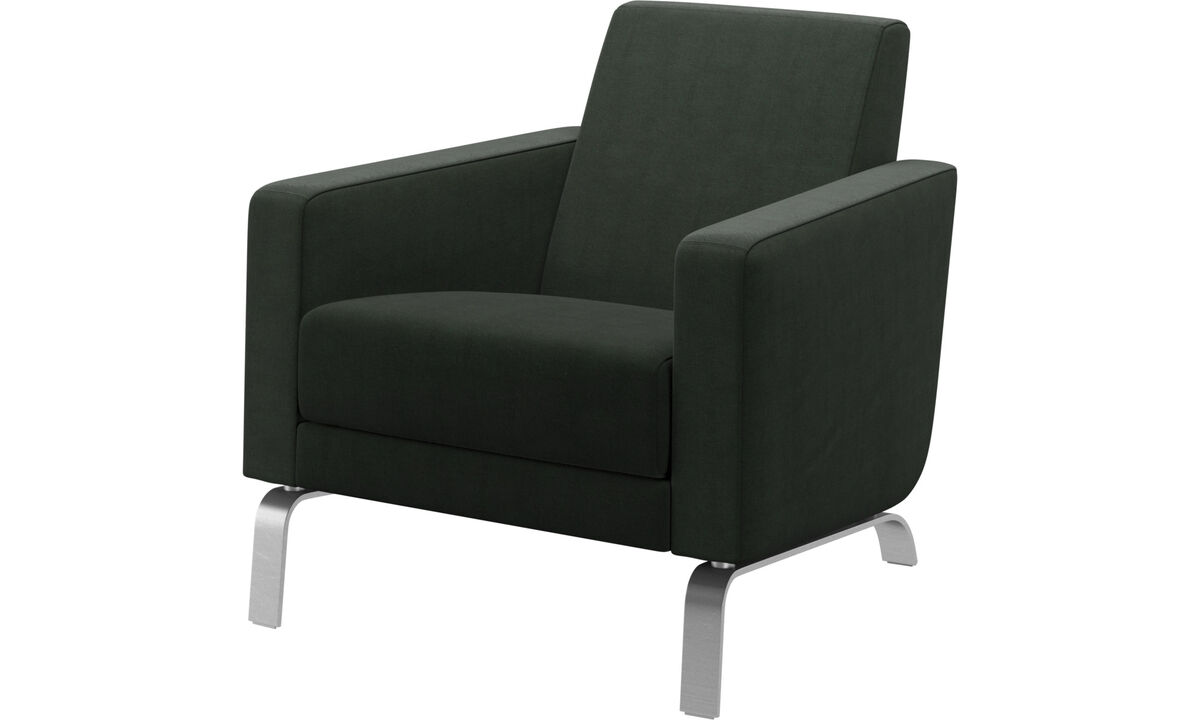 Armchairs - Fly chair - Green - Fabric