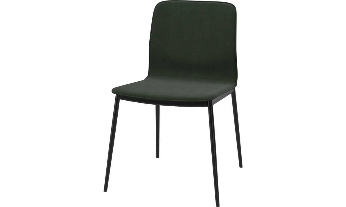 Dining chairs - Newport dining chair - Green - Fabric