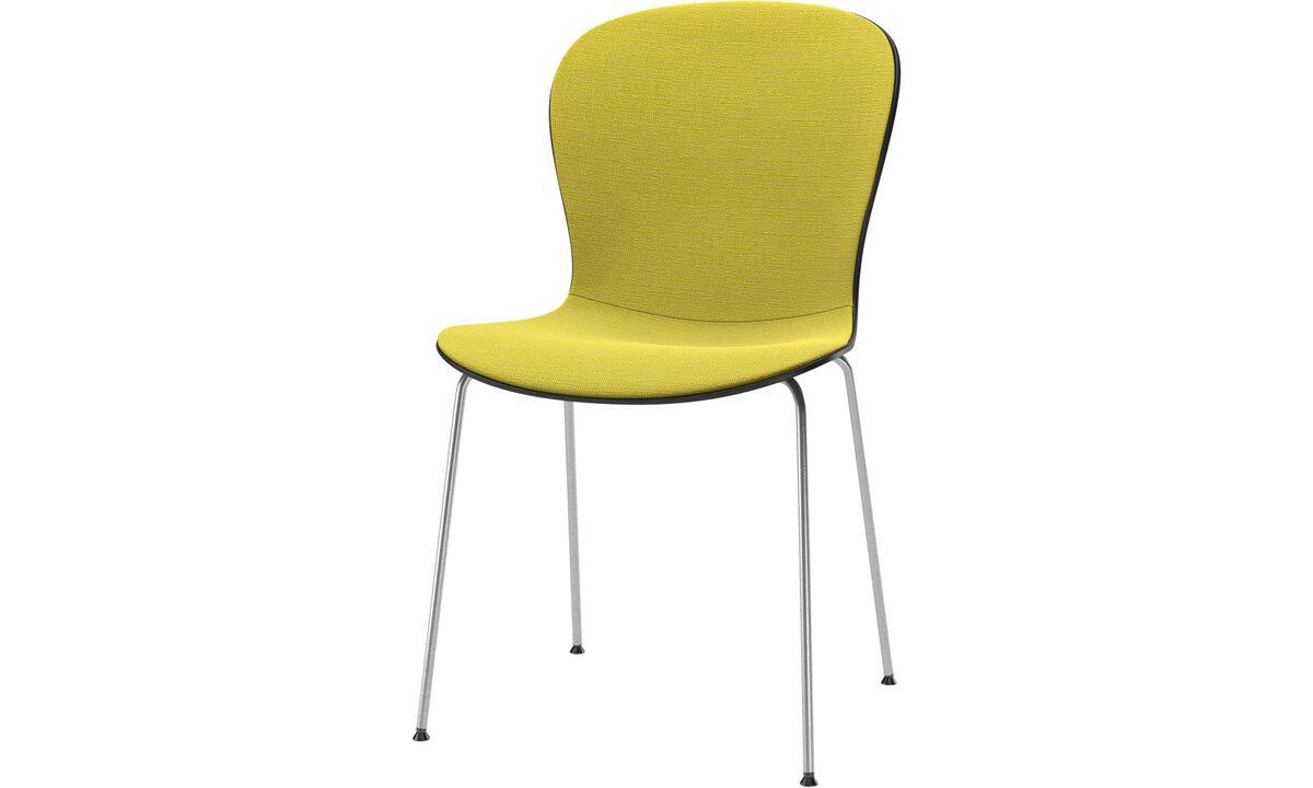 Esszimmerstühle - Adelaide Sessel - Gelb - Stoff