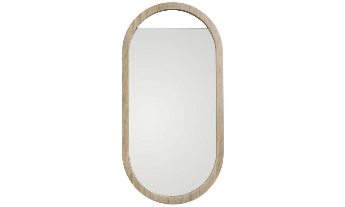 Mirrors - Living mirror - Brown - Oak