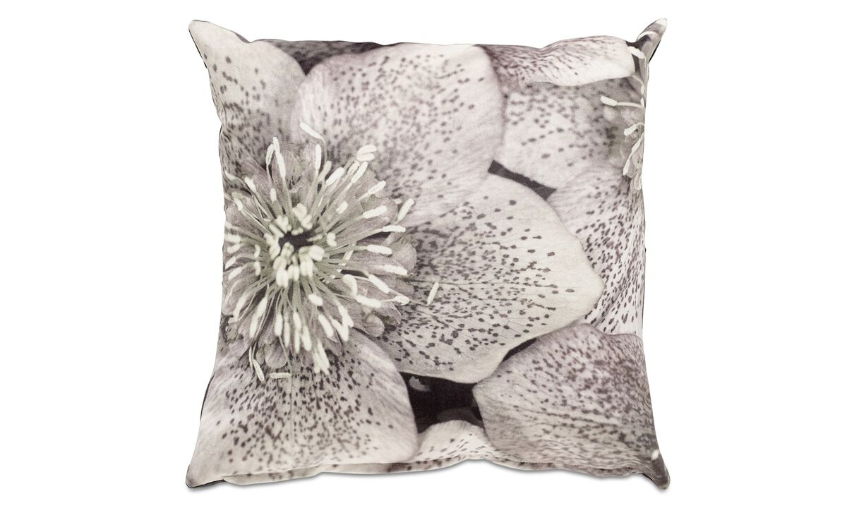 Cushions - Orchid cushion - Red - Fabric
