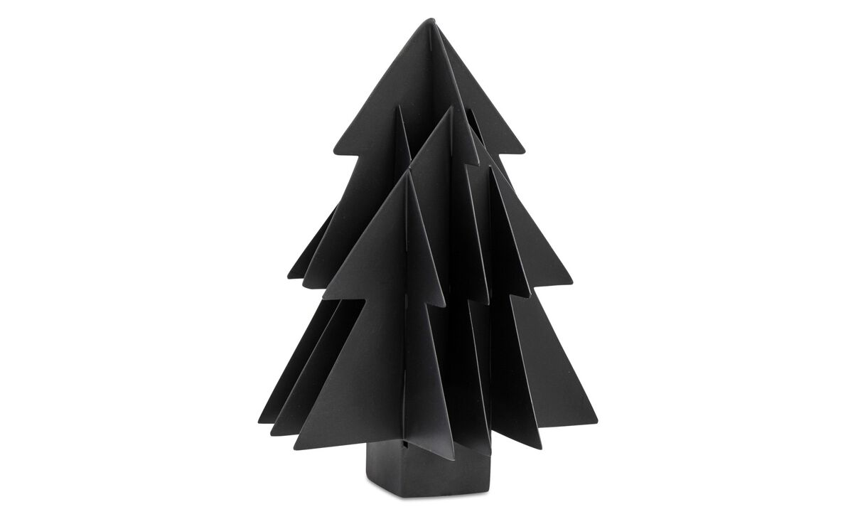 Christmas accessories - Sculture Christmas Tree - Metallo
