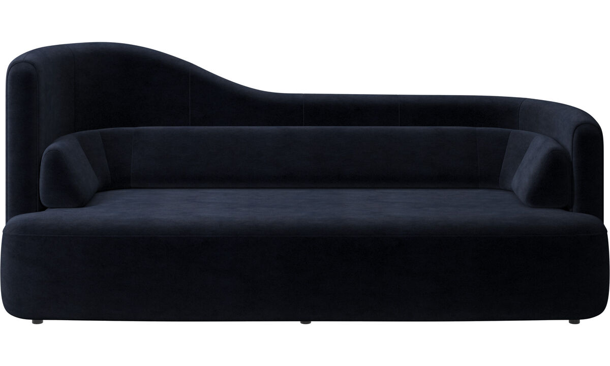 2.5 seater sofas - Ottawa sofa - Blue - Fabric