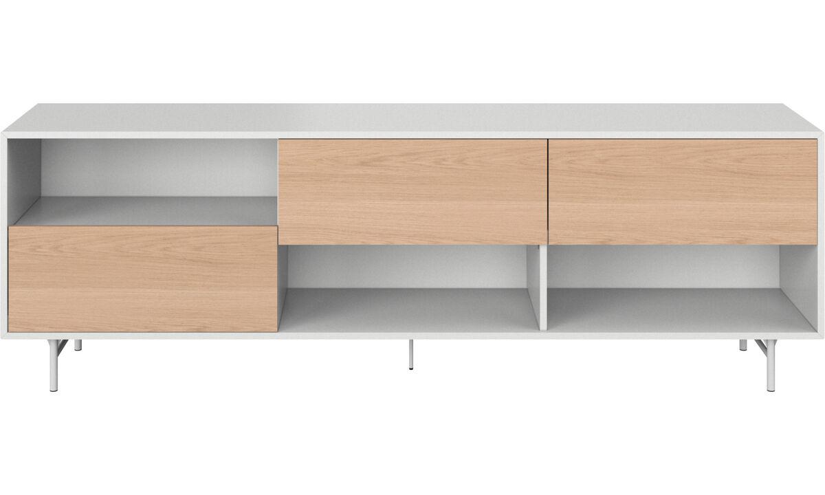 Sideboards - Manhattan Sideboard - Weiß - Holz