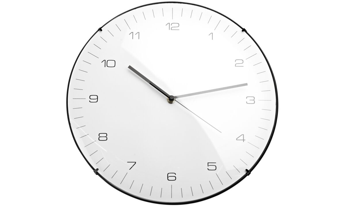 New designs - Classic wall clock - Plastic