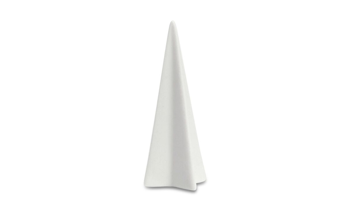 Christmas accessories - Sculture Christmas Tree - Bianco - Ceramica