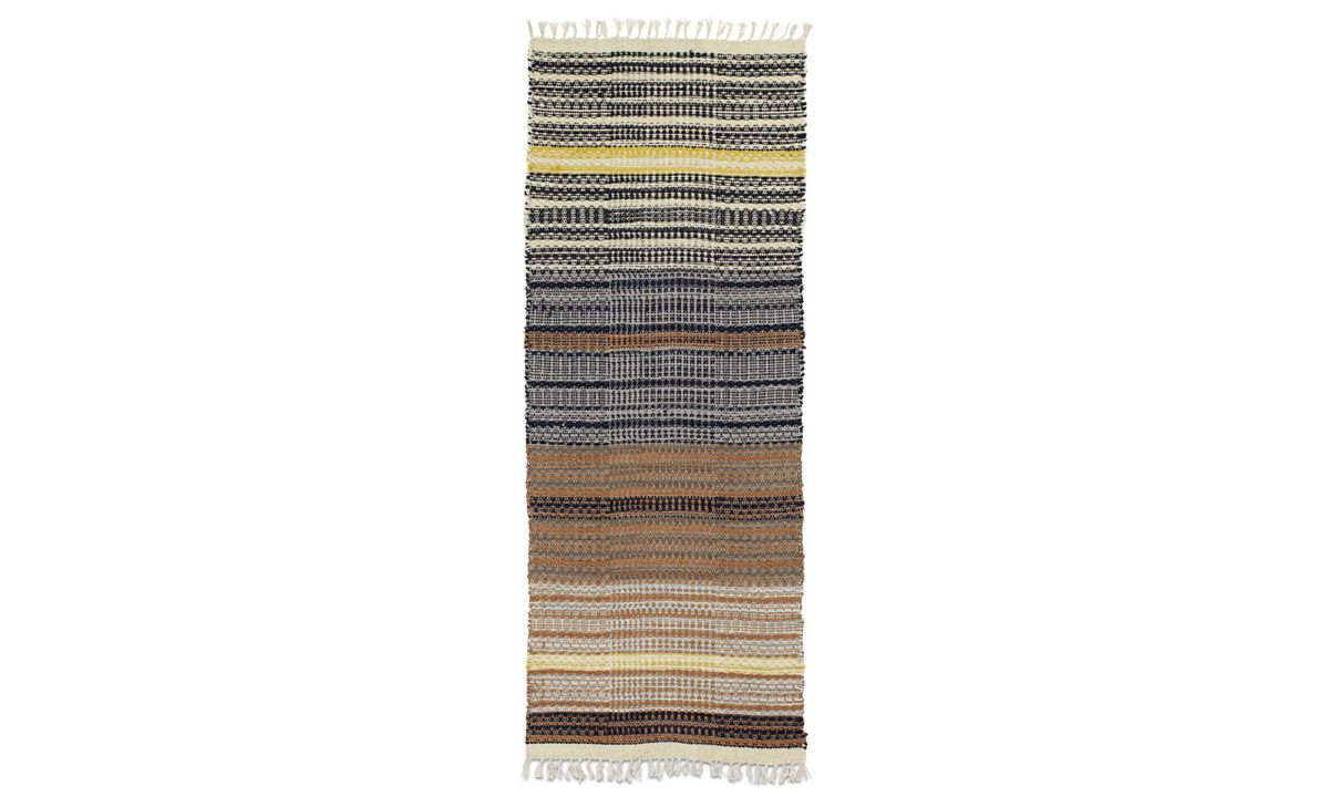 Rectangular rugs - Arte rug - Runner - Mixed colours - Fabric