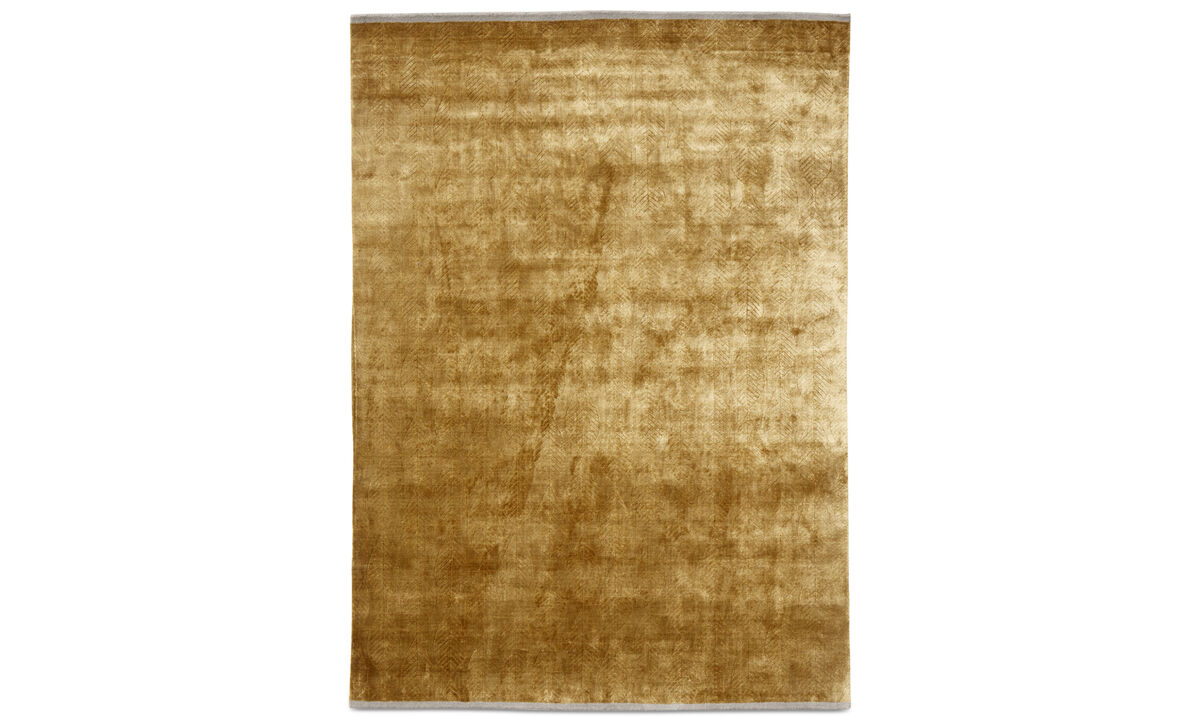 Rugs - Elpida rug - rectangular - Yellow - Viscose