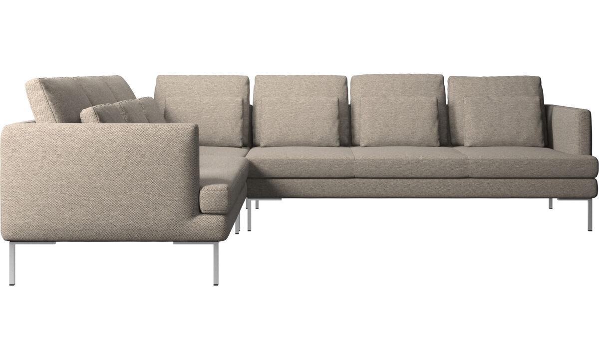 Beige corner sofas | BoConcept®