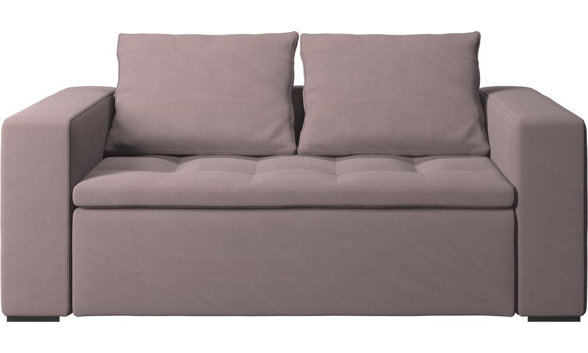 2 seater sofas - Mezzo sofa - Purple - Fabric