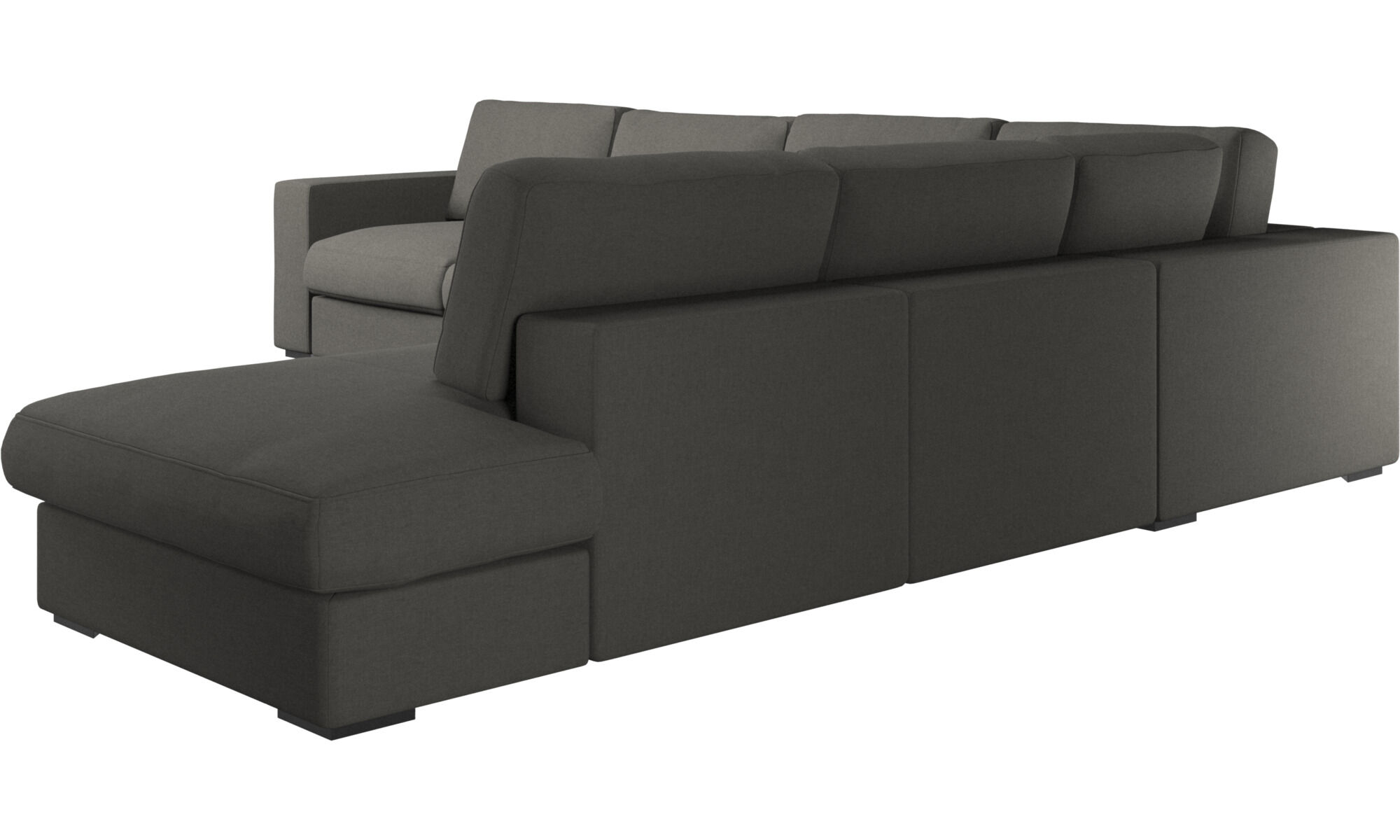 Corner sofas - Cenova corner sofa with lounging unit - BoConcept