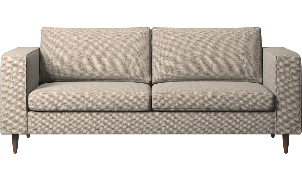 New designs - Indivi 2 sofa - Beige - Fabric