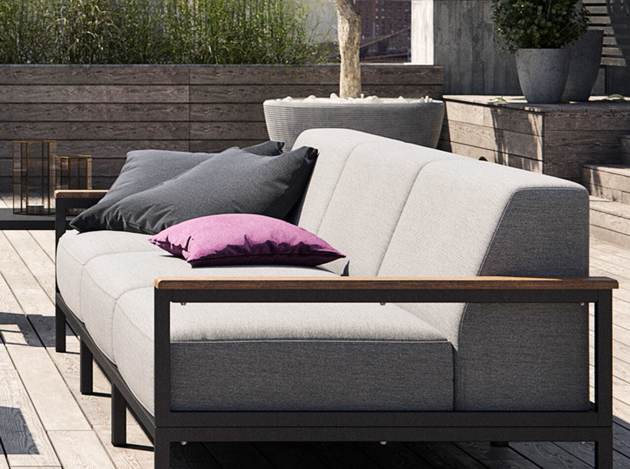 Outdoor lounge furniture - Rome outdoor sofa