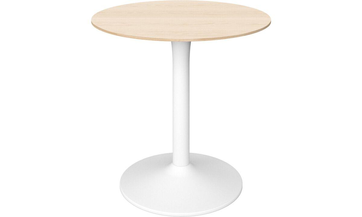 Stoły do jadalni - stół New York - okrągły - Brązowy - Dąb