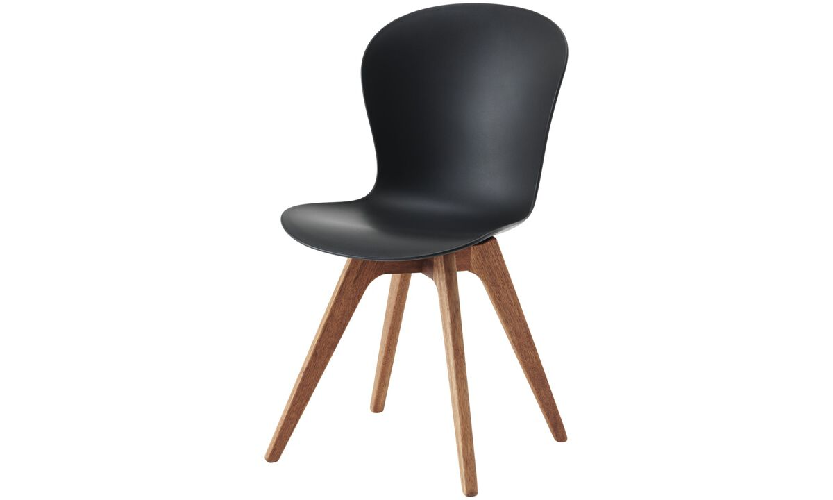 Dining chairs - Adelaide chair (for in- and outdoor use) - Black - Plastic