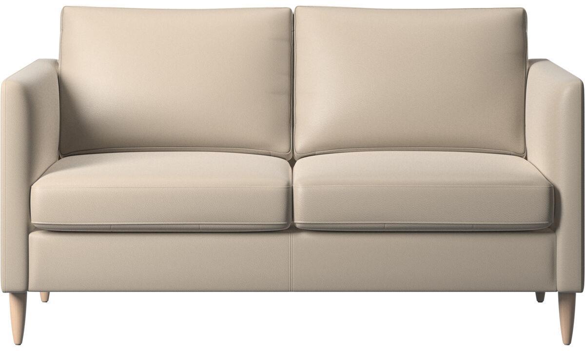 2 seater sofas - Indivi sofa - Beige - Leather
