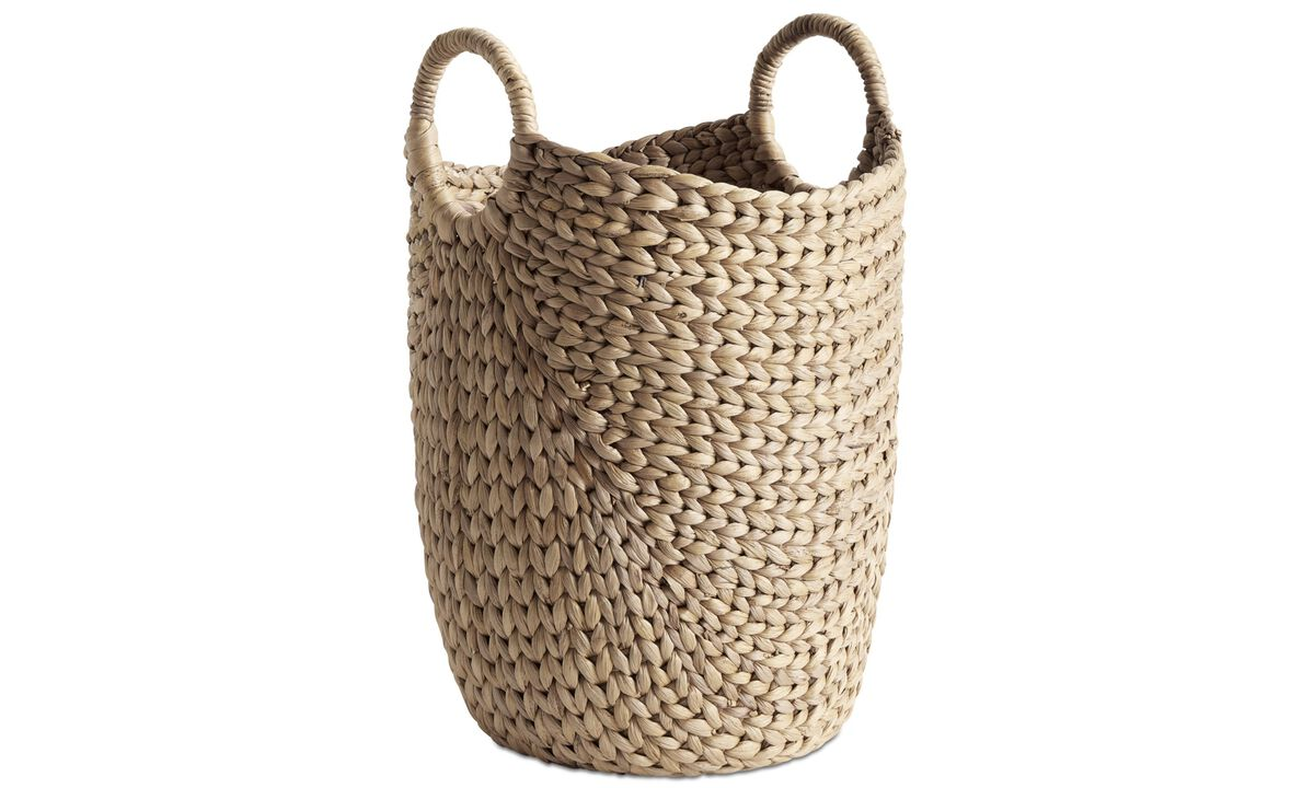 Small furniture - Hey basket - Beige - Glass