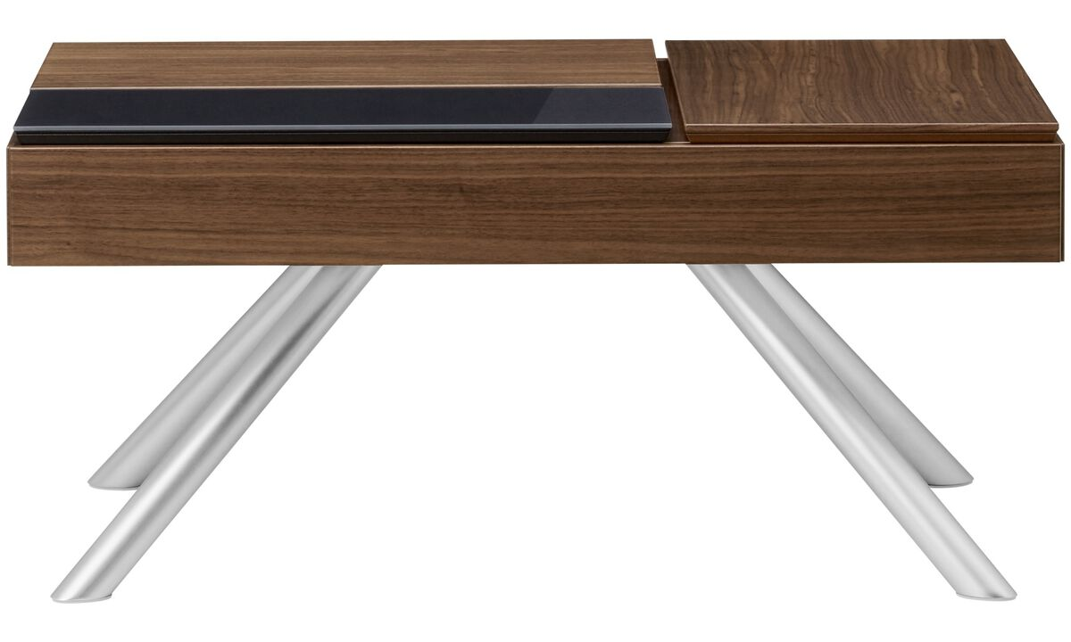 Coffee tables - Chiva functional coffee table with storage - rectangular - Brown - Walnut