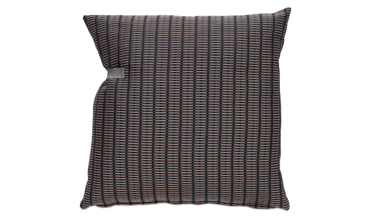 Cushions - Stripe wide cushion - Fabric