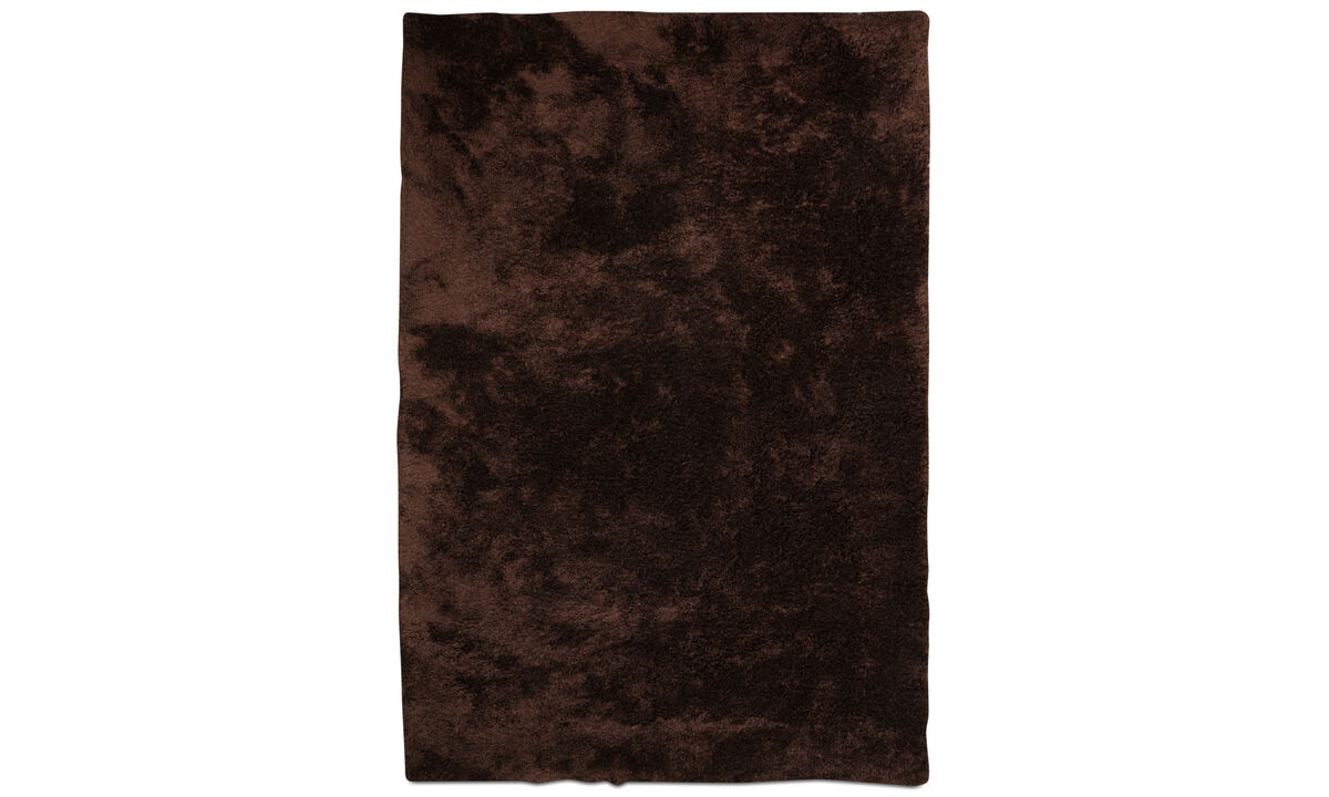 Tapis - Tapis Movement - rectangulaire - Rouge - Polyester