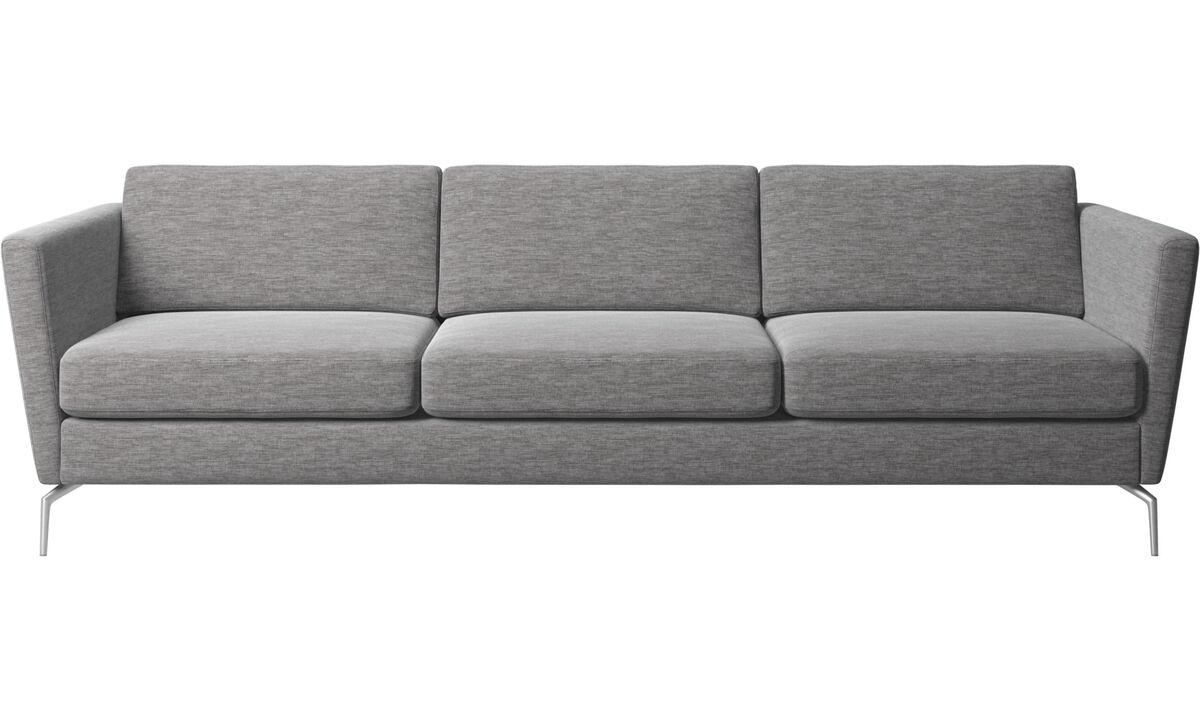 Sofas - Osaka sofa, regular seat - Grey - Fabric