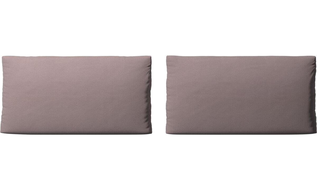 Accesorios para muebles - cojines de sofá Nantes - Morado - Tela