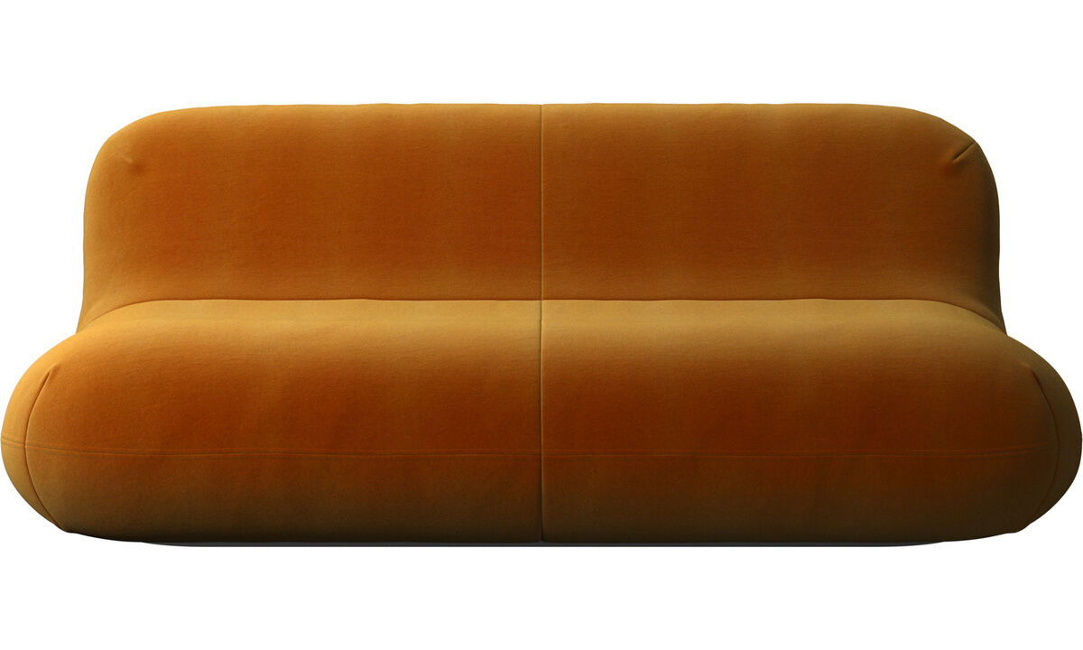 2,5-местные диваны - Диван Chelsea - Желтый цвет - Tкань