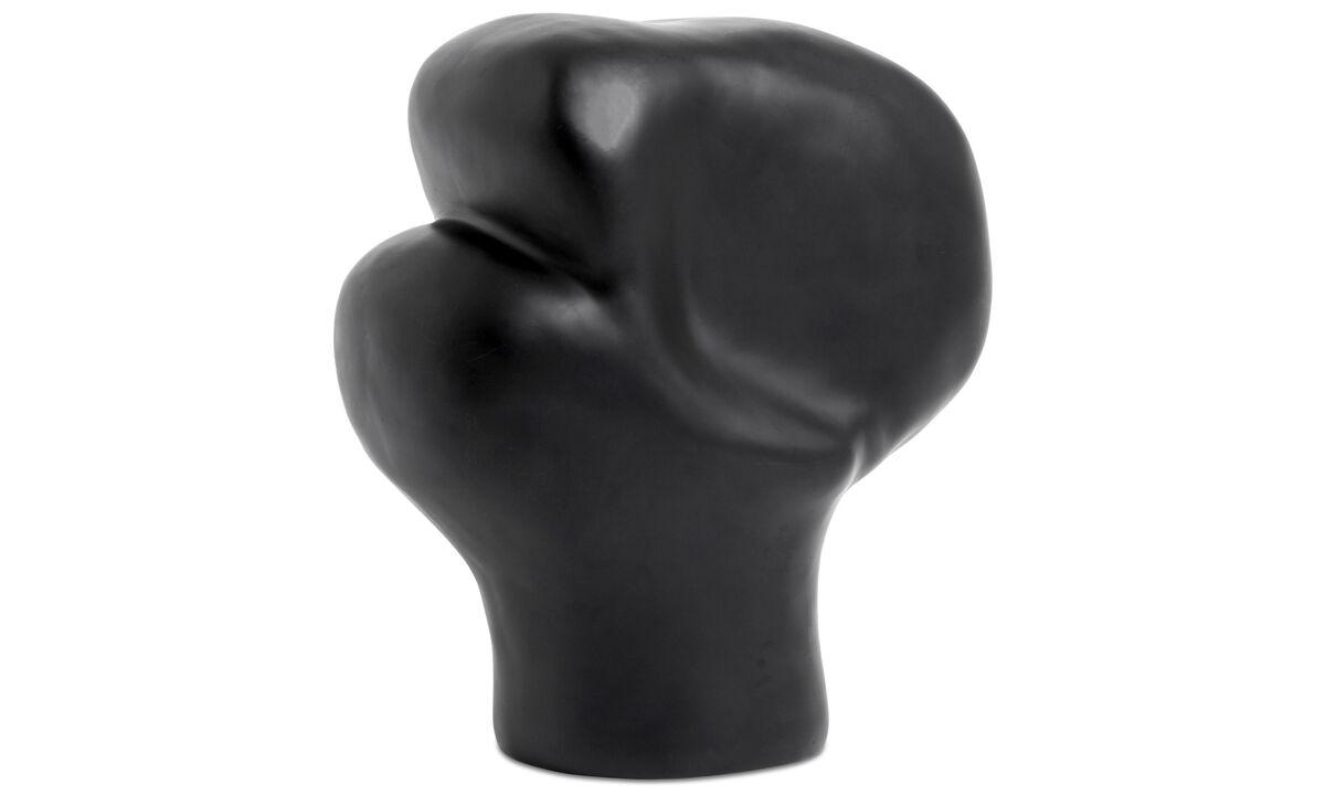 Decoration - Unreal sculpture - Black - Plastic