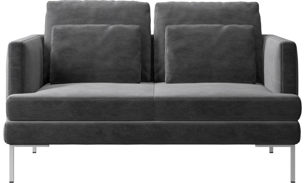 New designs - Istra 2 sofa - Gray - Fabric